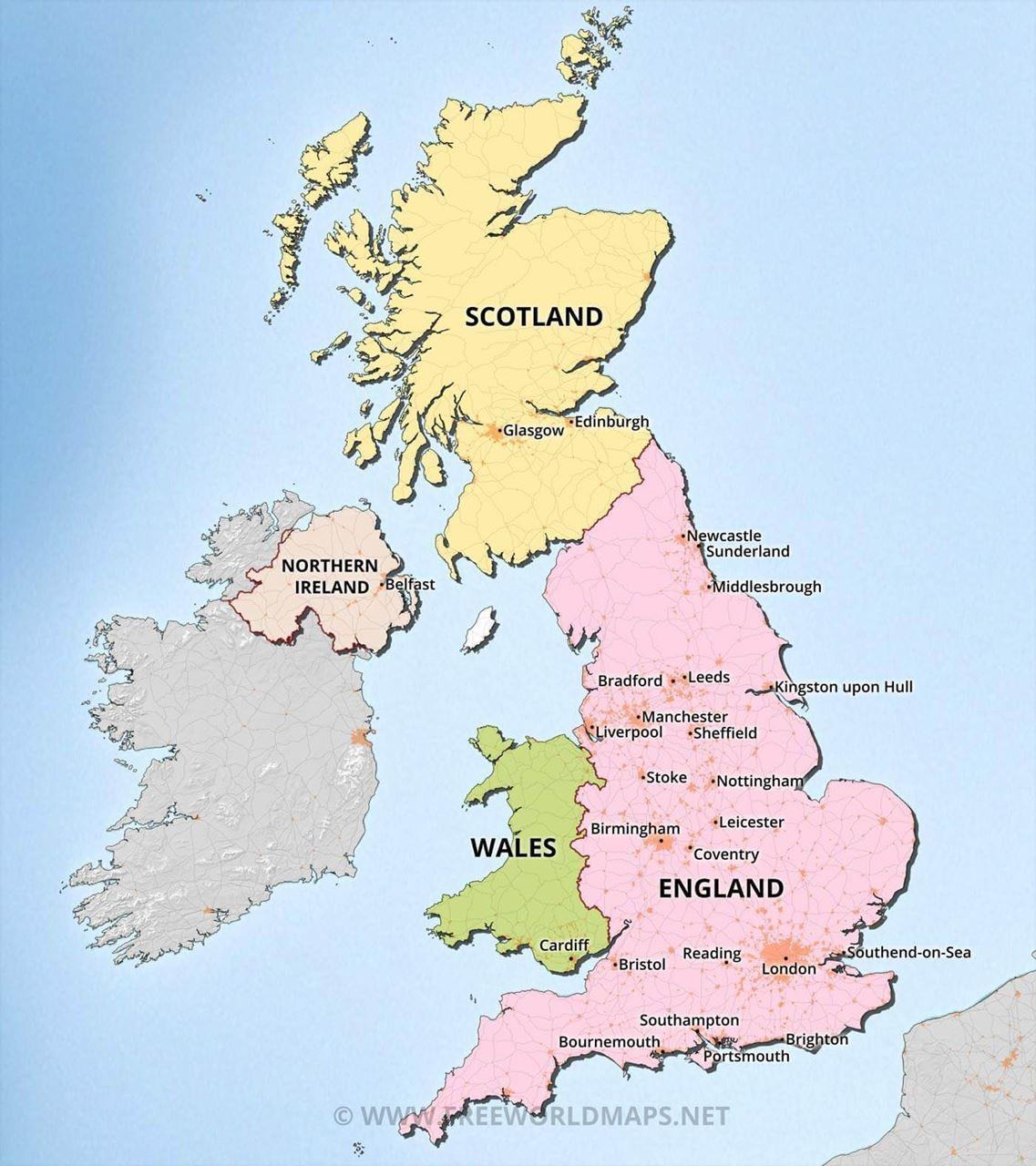 Map Of Uk Hd.International Psycho Oncology Society United Kingdom